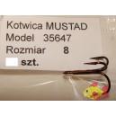 MUSTAD 35647 ROZMIAR 8