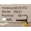 MUSTAD 35647 ROZMIAR 10