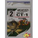 OWNER CT-1 CARP TAFF FLYLINER SIZE 2