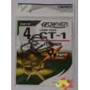 OWNER CT-1 CARP TAFF FLYLINER SIZE 4
