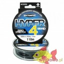 PLECIONKA Ron Thompson HYPER 4-BRAID 0.20 mm / 110 m grey