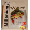 ŻYŁKA PODLODOWA DRAGON MILLENIUM WINTER 50M 0,12MM