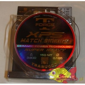 TRABUCCO XPS MATCH SINKING 0.16MM 150M