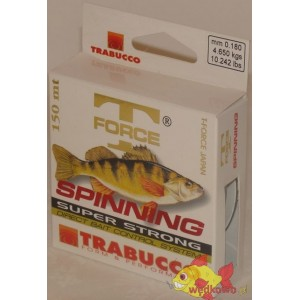 TRABUCCO SPINNING T-FORCE PERCH 0.18MM 150M