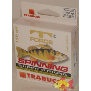 TRABUCCO SPINNING T-FORCE PERCH 0.22MM 150M