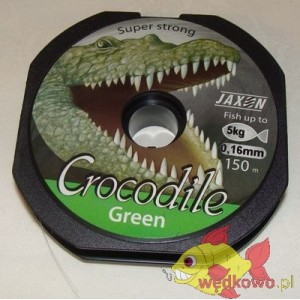 JAXON CROCODILE GREEN 0,16MM 150M