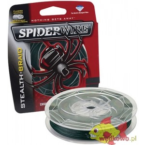 SPIDERWIRE STEALTH BRAID MOSS GREEN 0.14MM 137M