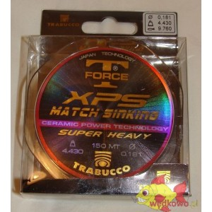 TRABUCCO XPS MATCH SINKING 0.18MM 150M