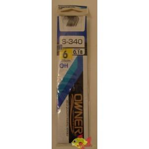 OWNER SIZE 6 Z PRZYPONEM 0.18MM S-340