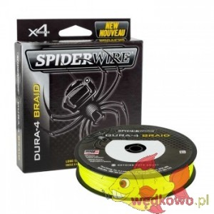 SPIDERWIRE DURA 4 YELLOW 0.10mm 150m