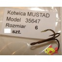 MUSTAD 35647 ROZMIAR 6