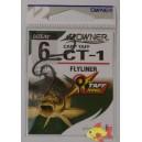 OWNER CT-1 CARP TAFF FLYLINER SIZE 6