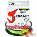 Plecionka Daiwa J-Braid X8 chartreuse 0.13mm/150m