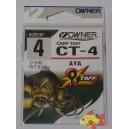 OWNER CT-4 CARP TAFF AYA SIZE 4